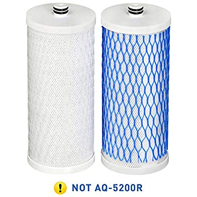 Waterdrop Undersink Water Filter, Compatible with AQ 4035 AQ 4025 Will Fit Drinking Water Systems, Pack of 2