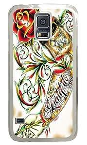 Arm Custom Samsung Galaxy S5/Samsung S5 Case Cover Polycarbonate Transparent