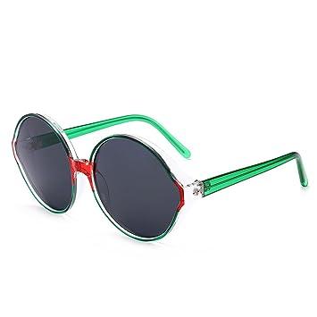 Z&HA Gafas De Sol Polarizadas para Mujer- Marco Redondo Color Gafas Grandes - Accesorios De