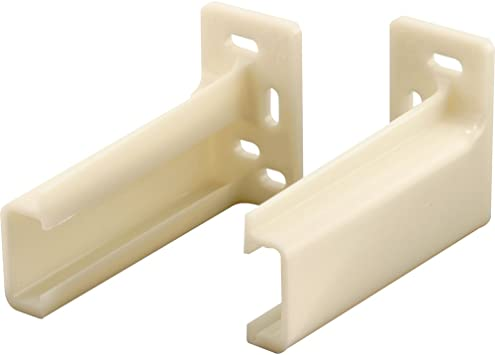 Prime-Line Products R 7261 Drawer Track Back Support, Pack of 2