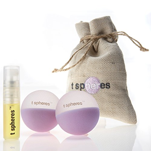 iet, Aromatherapy Infused Massage Ball Set (Lavender Aroma), 45mm (Golf Ball Size) ()