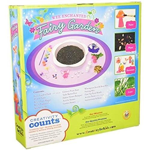 Lovely Enchanted Fairy Garden Kit .#GH45843 3468 T34562FD176841 On Sale