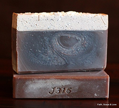 Oatmeal Stout Handcrafted Soap - 2 Bars - Superior Brewing Oatmeal Stout Beer - Made in Minnesota