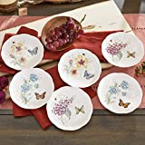Lenox Butterfly Meadow Party Plates, Set of