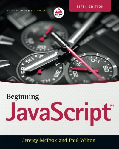 Beginning JavaScript by Wrox Press