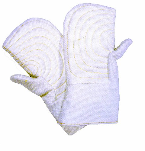 Steel Grip GL260R-14 Reversible Glass High Heat Mitt, 14-Inch