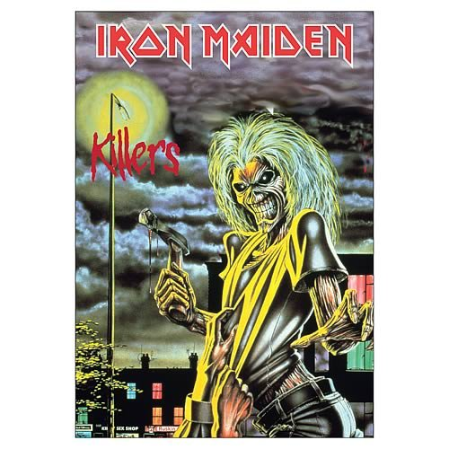 Iron Maiden Killers Fabric Poster Wall Hanging (Iron Maiden Killers Poster compare prices)