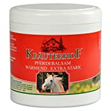 Horse Balm Extra Strong Warming Massage Gel with Extracts of Red Vine Leaf / Horse Chestnut / Lemon Balm / Chamomile / Hops / Valerian / Yarrow / Fennel / Mistletoe / 500 ml