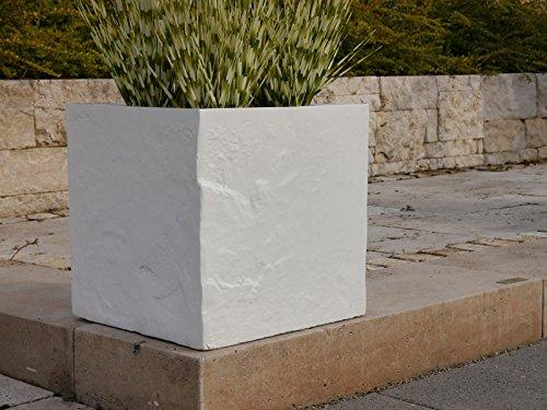 Blumenkübel BLOXX aus Fiberglas wie orig. Granitgestein, Pflanzkübel ...