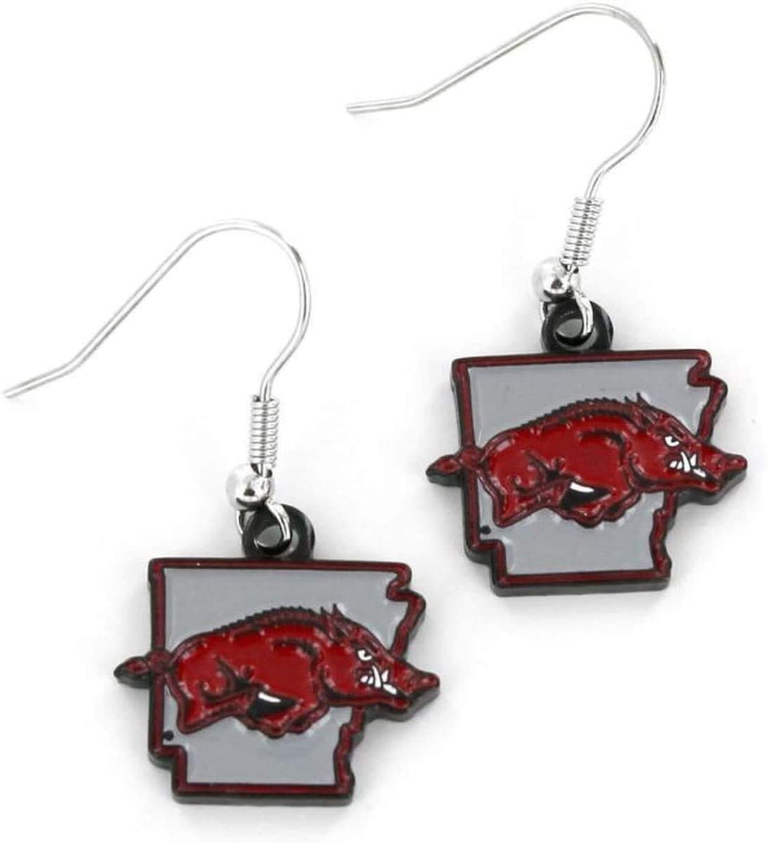 Aminco International NCAA Alabama Crimson Tide Home State Earrings