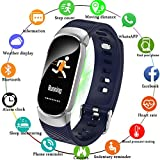 Fitness Tracker, LIGE Smart Pedometer with Heart Rate(HR) Blood Pressure Monitor, IP67 Waterproof