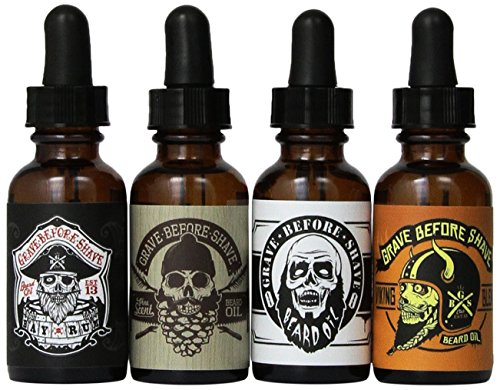 Grave Before ShaveTM Beard Pack product image