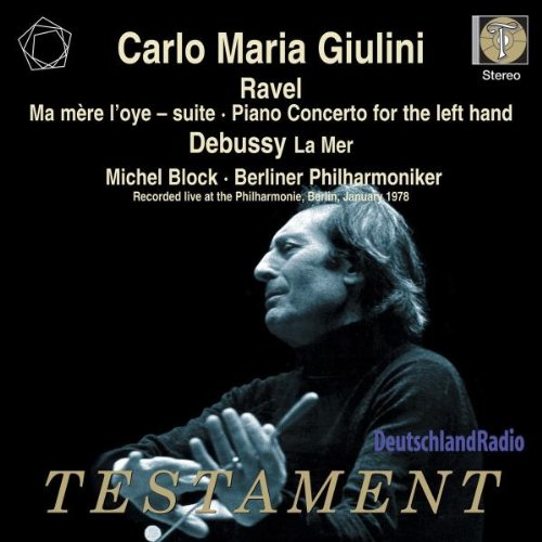 Price comparison product image Ravel: Ma Mere L'Oye ( Mother Goose) Suite; Piano Concerto for Left Hand / Debussy: La Mer