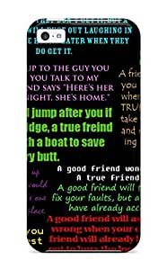 New Premium ZippyDoritEduard Funny Friendship Quotes Skin Case Cover Excellent Fitted For ipod touch4