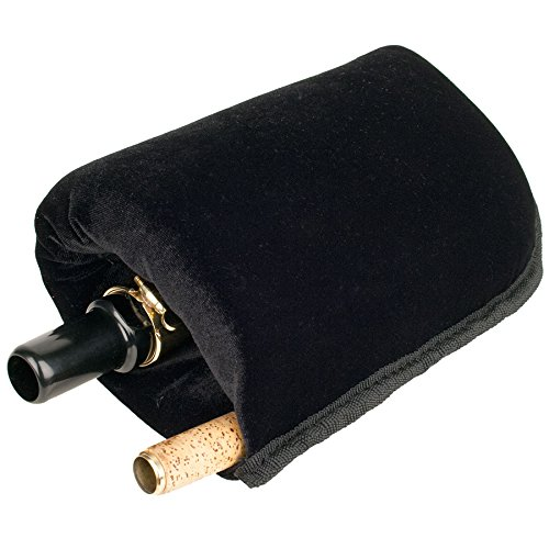 Protec Baritone Saxophone Neck and Mouthpiece In-Bell Pouch (A208) ()