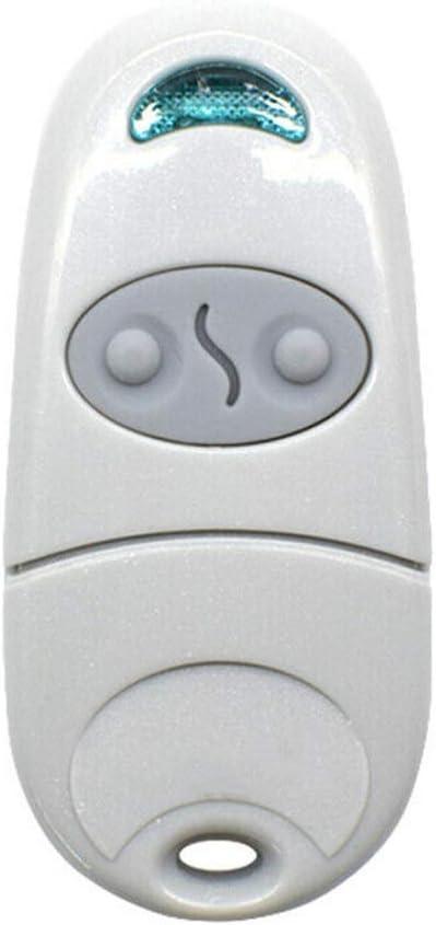 mando a distancia para puerta de garaje compatible con Came Top 432NA//432 M Abridor de puerta de garaje universal Urisgo mando a distancia motorizaci/ón para puerta de garaje repuesto para llave