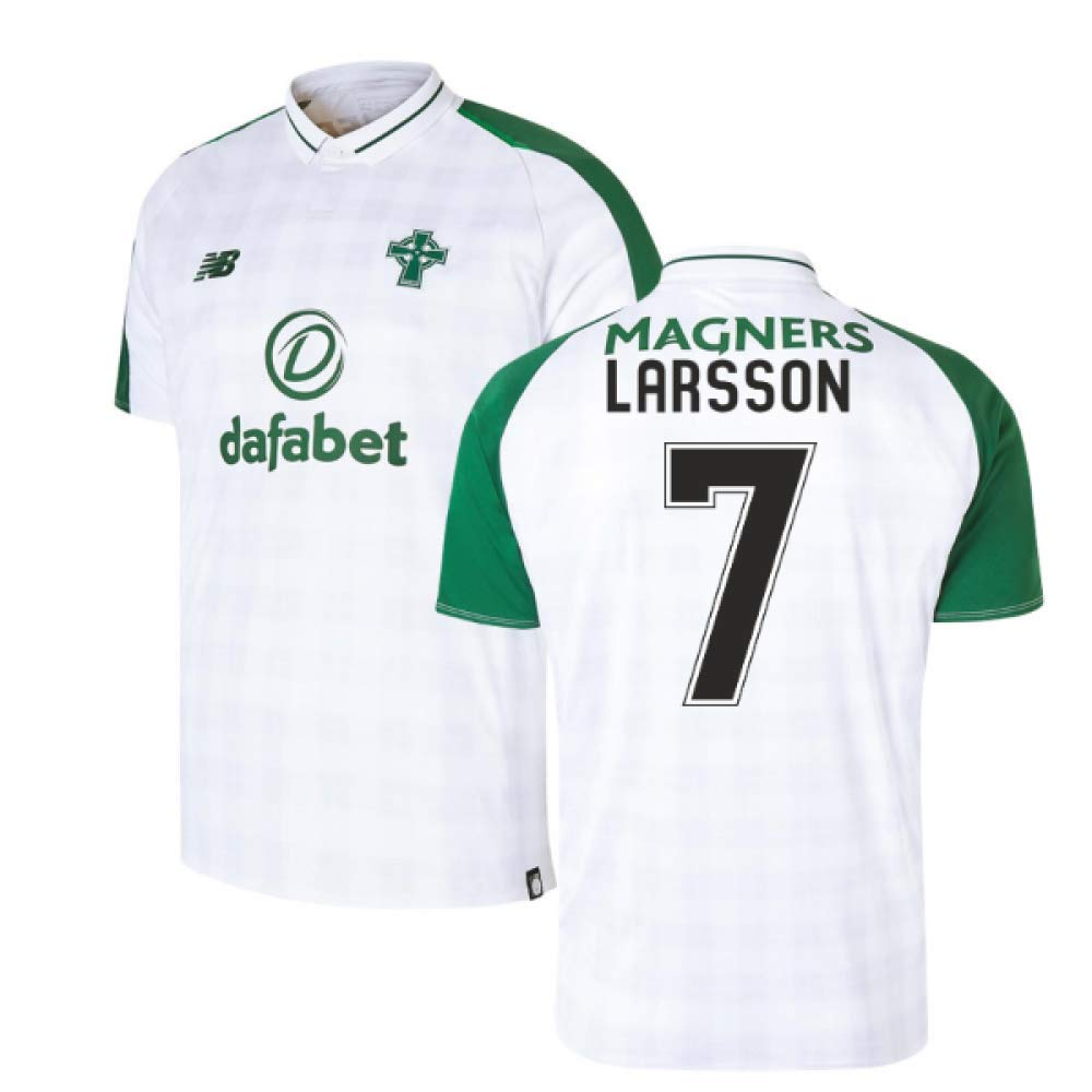 Celtic 2018 2019 Football Away 7) Larsson (Henrik Trikot T