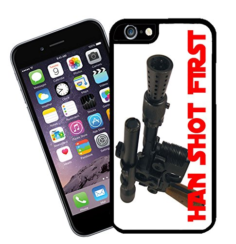 Star Wars 'Han Shot First' iPhone case - This cover will fit Apple model iPhone 7 (not 7 plus) - By Eclipse Gift Ideas