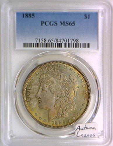 1885 P Morgan Dollar MS-65 PCGS