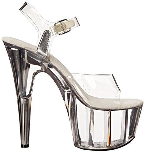 Ellie Shoes Women's 709 Brook Platform Sandal Clear tPCHzhtj9