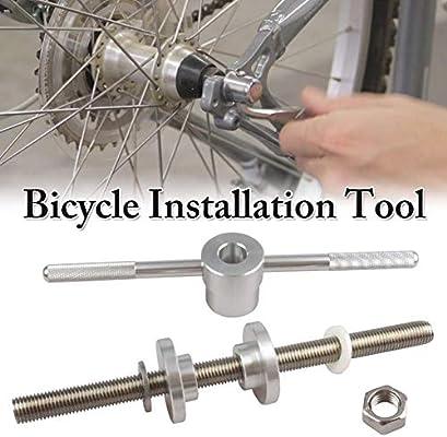 Eruditter Eje Trasero Bicicleta Herramienta De Instalación De La ...