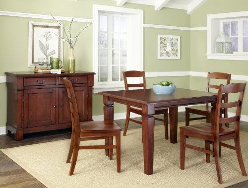 Home Styles The Aspen Collection 5-Piece Dining Set