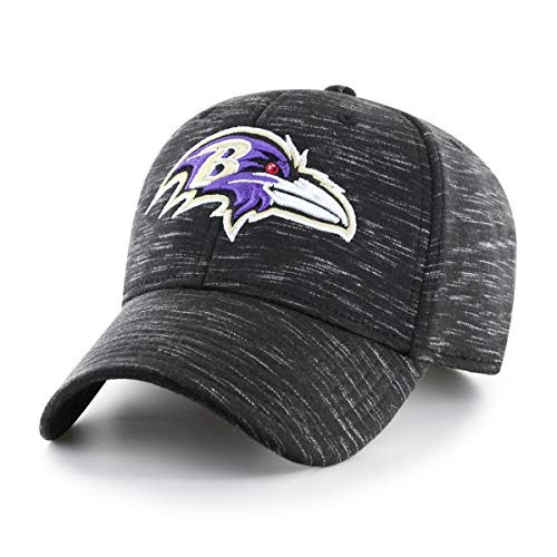 OTS NFL Baltimore Ravens Male Space Shot All-Star Adjustable Hat, Black, One Size