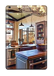 Wonderful Country Kitchen With Stone Detail And Mural-like Tile Backsplash Case Cover Skin For Ipad Mini/mini 2 Phone Case
