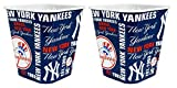yankees popcorn - New York Yankees 3 Liter Reusable Plastic Snack Bucket 2 Pack
