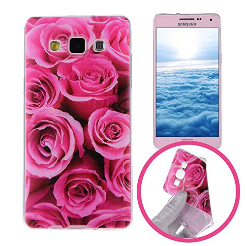 22 opinioni per Silingsan Custodia in Silicone per Samsung Galaxy A7 2015 SM-A700F Cover Gomma