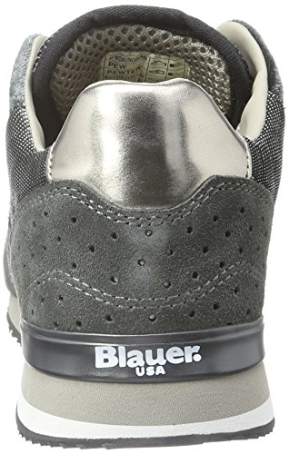 Blauer USA Worunori - Zapatillas Mujer Gris - Grau (Pewter)