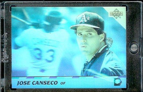 (1992 Upper Deck HoloGram Baseball Card #14 Jose Canseco)