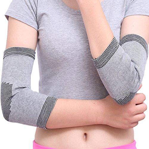 Arthritic Golf (Luwint Compression Elbow Brace - Breathable Sports Elbow Sleeve for Golf Workouts Tennis Basketball Weightlifting Arthritic, 1 Pair)