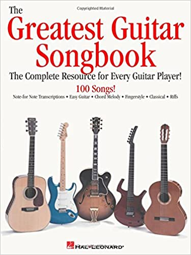 Amazon.com: The Greatest Guitar Songbook (0073999991420): Hal ...