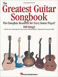 GREATEST GUITAR SONGBK: Amazon.es: Hal Leonard Publishing ...
