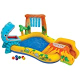 Intex - Dinosaur Inflatable Play Center, 98
