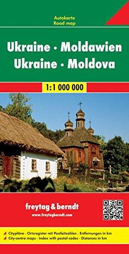 Ukraine - Moldavia Road Map (Road Maps) (English, French, Italian, German and Ukrainian Edition)