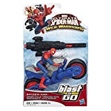 Marvel Ultimate Spider-Man Web Warriors Spider-Man Spider Cycle Vehicle
