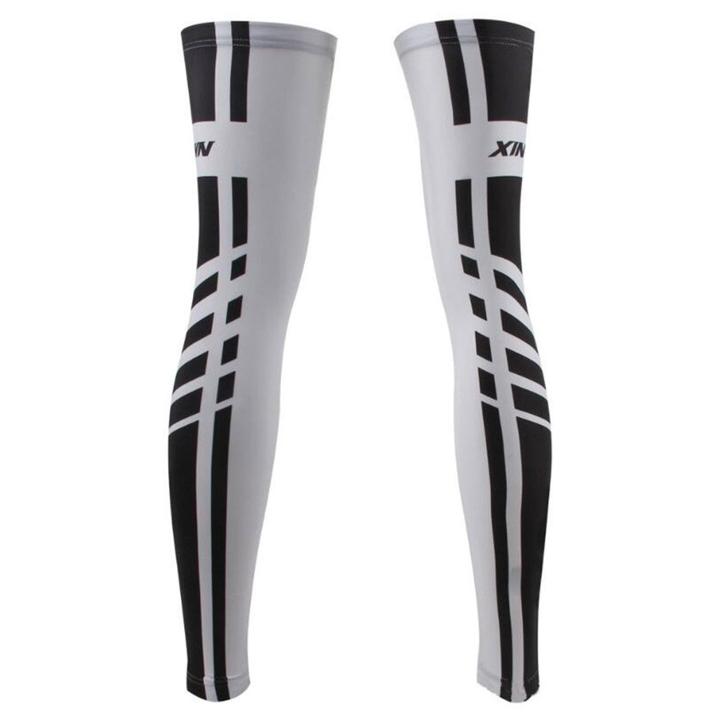 GWELL 1 Paire Prot/ège-jambe Jambi/ère Sport Antichoc Chute Jambe Protectors pour Cyclisme Basketball Volleyball etc