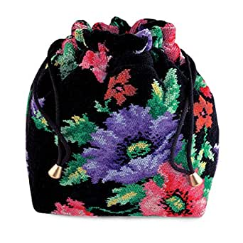 Feiler Mohn Chenille Duffle Handbag for Women - Multi Color