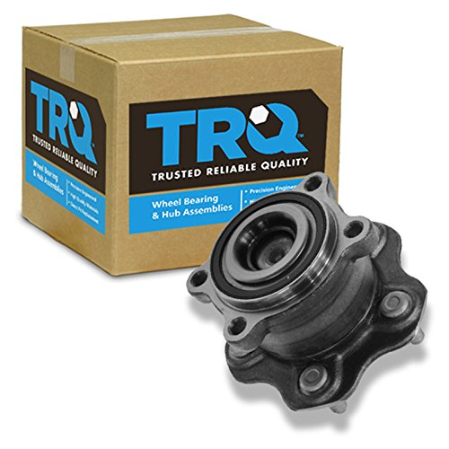 TRQ Wheel Bearing & Hub Assembly Rear Driver or Passenger Side for Altima Maxima