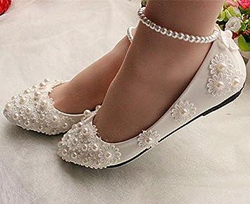 Weiße Schuhe Hochzeit