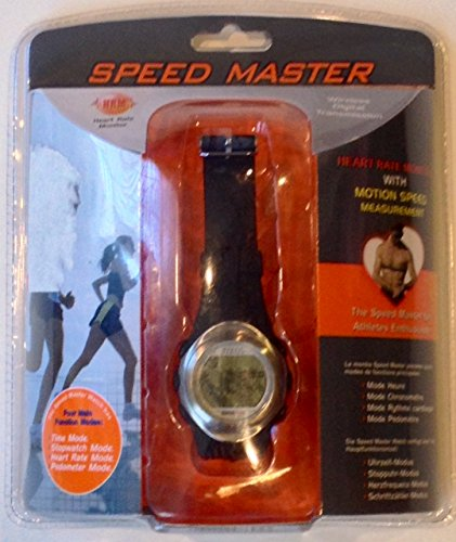 Speed Master Heart Rate Monitor Watch