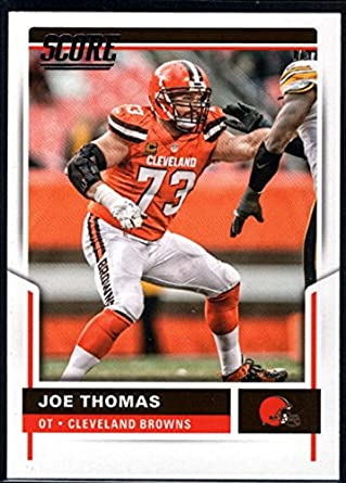 huge discount 268a0 69d1e Amazon.com: 2017 Score #72 Joe Thomas Cleveland Browns ...