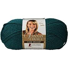 Lion Brand Yarn 860-176 Vanna's Choice Yarn, Peacock