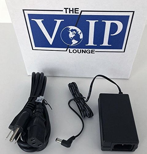 The VoIP Lounge Replacement 48V Power Supply for Cisco 7900 Series IP Phone (includes AC Power Cord) - 7900 Series