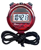 Sper Scientific 810013R Transparent Red Stopwatch