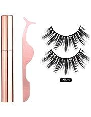 Magnetic Liquid Eyeliner Set Reusable Magnetic Eyelash Eyelash Tweezers Natural Soft False Eyelashes for Eyelash Extension