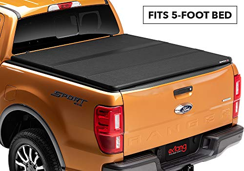 Solid Fold 2.0 Hard Folding Truck Bed Tonneau Cover | 83636 | fits 2019 Ford Ranger, 5' Bed