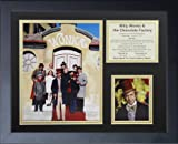 Willie Wonka and the Chocolate Factory 11'' x 14'' Framed Photo Collage by Legends Never Die, Inc.